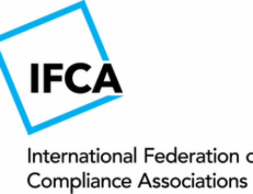 We Are Now A Member of The International Federation of Compliance Associations